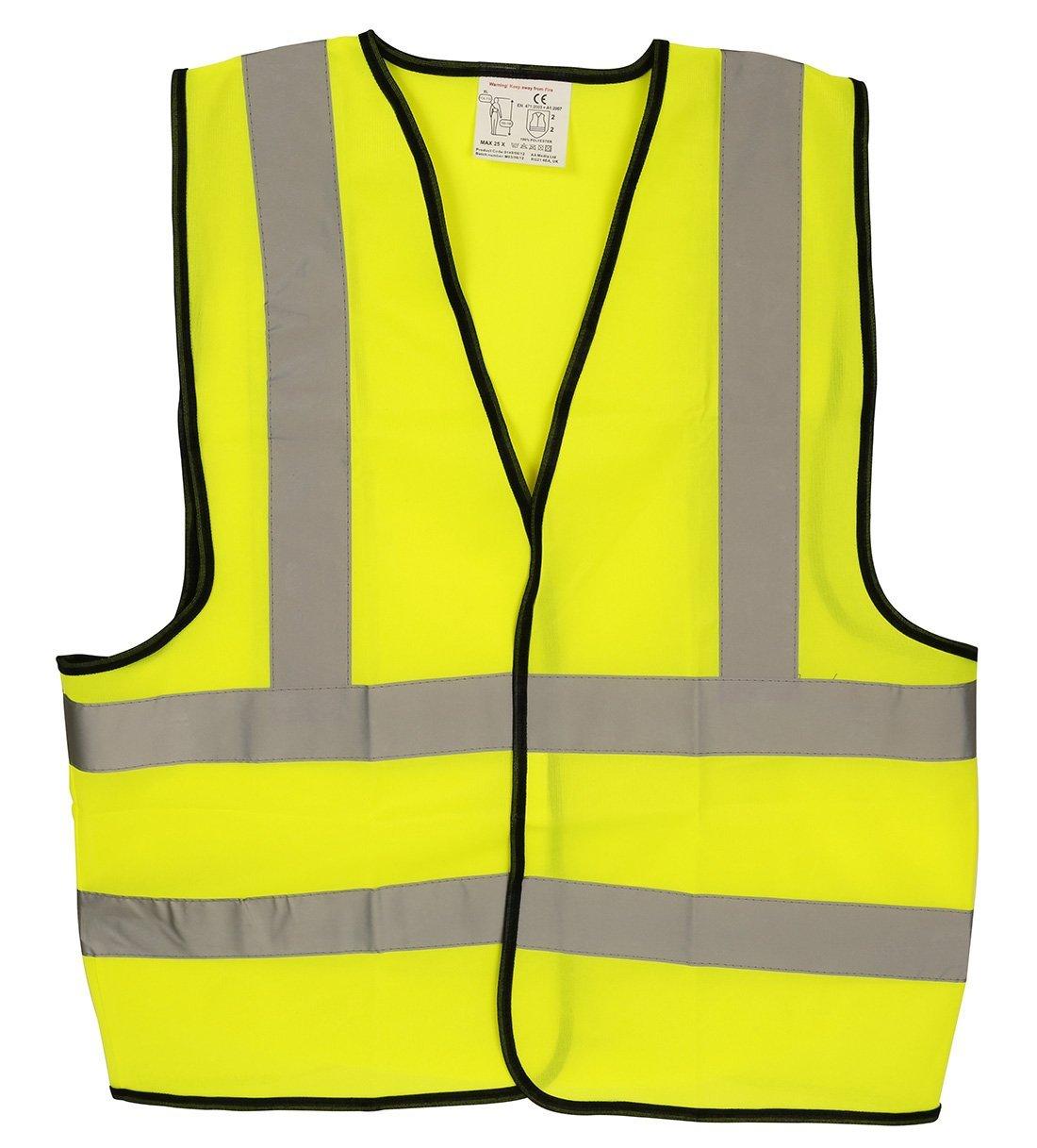 Reflective jacket or waistcoat