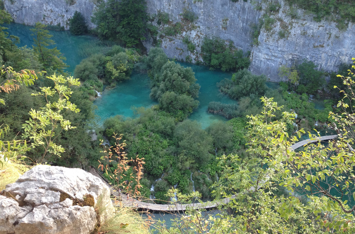 Plitvice Lakes National Park - Walkway