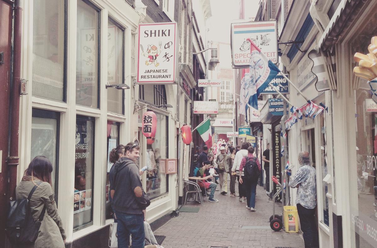 Alleyways in Amsterdam