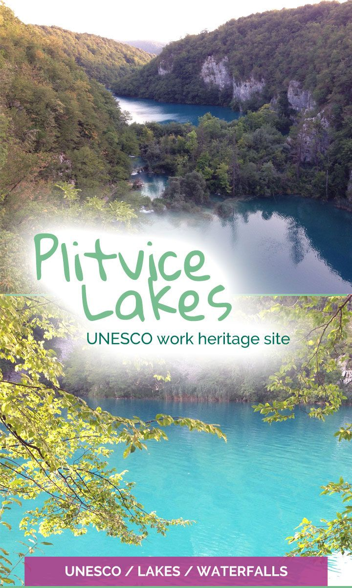 Plitvice Lakes - incredible terraced lakes joined by waterfalls - The Travelling Eagles