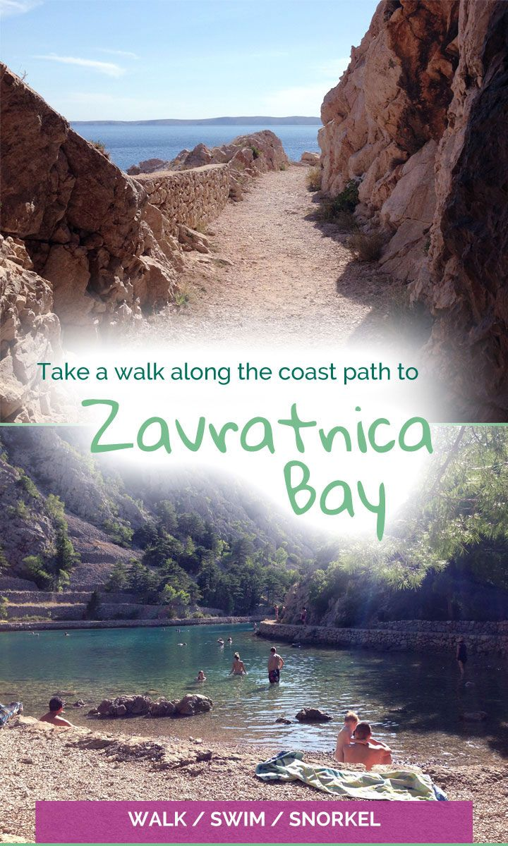 Zavratnica Bay - a beautiful inlet and perfect spot for swimming in the sea - The Travelling Eagles