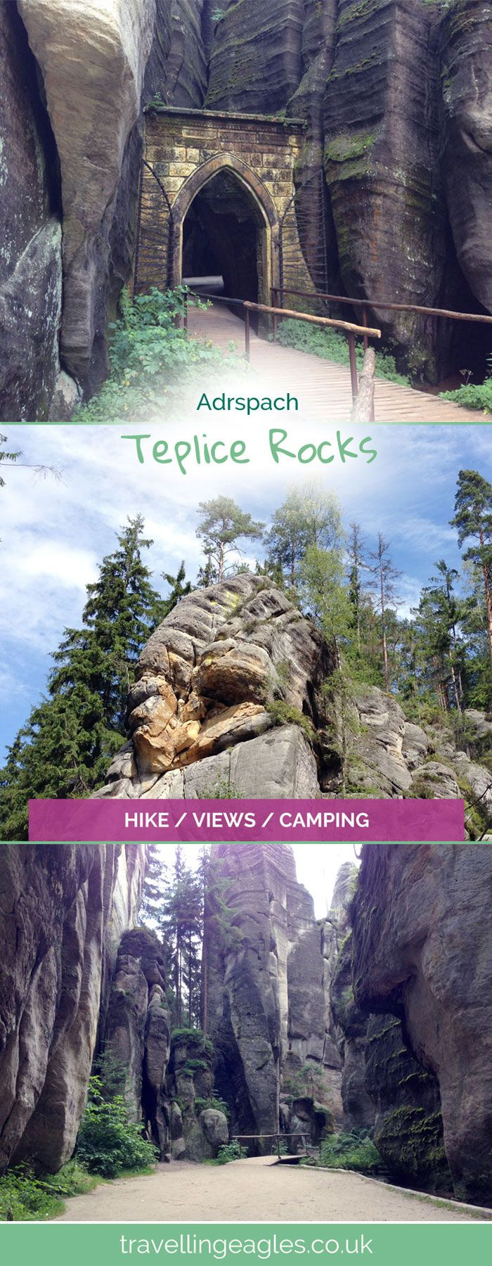 Teplice Rocks Adršpach - The Real Life Skyrim - The Travelling Eagles