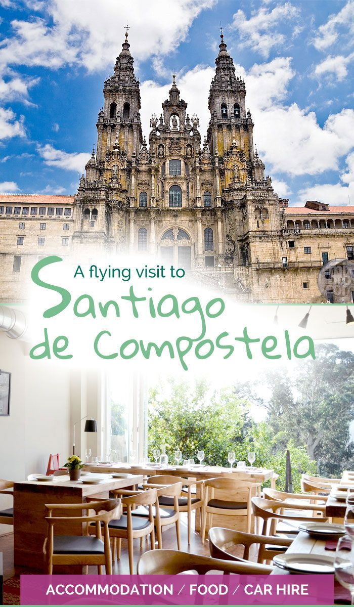 Bargain accommodation, delicious food and disappointing car hire in Santiago de Compostela - The Travelling Eagles