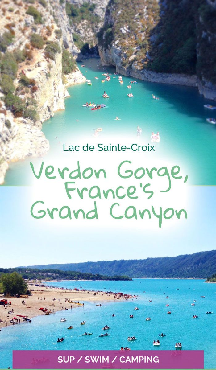 Lac de Sainte-Croix - a perfect paddleboarding location - The Travelling Eagles