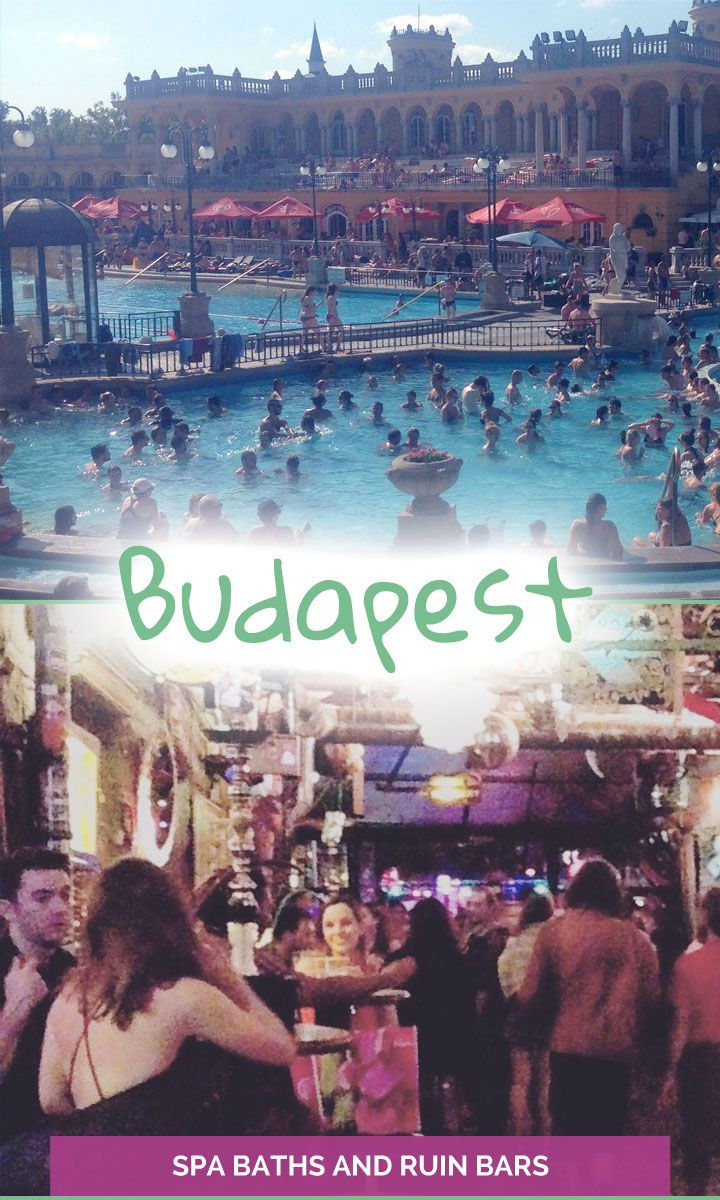 What's so great about Budapest? Spa Baths and Ruin Bars, I can't wait to go back! - The Travelling Eagles